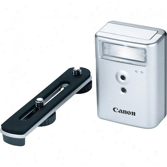 Canon Hf-dc1 High-power Wireless Flash For Powershot Digital Cameras