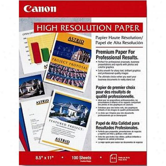 Canon High Resolution Paper, 8.5