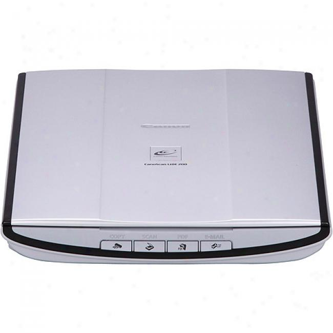 Caanon Lide200 Usb Flatbed Color Image Scanner