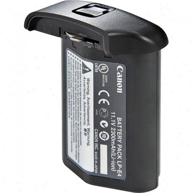 Canon Lp-e4 Li-ion Battery Pack For Canon Eos 1d Mark Iii & Eos-1ds Mark Iii