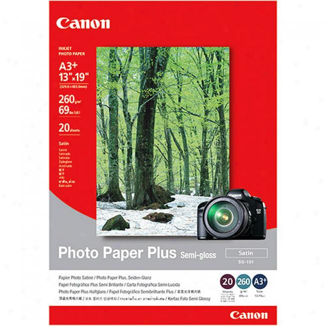 Canon Photo Paper Plus Semmi-gloss - 13