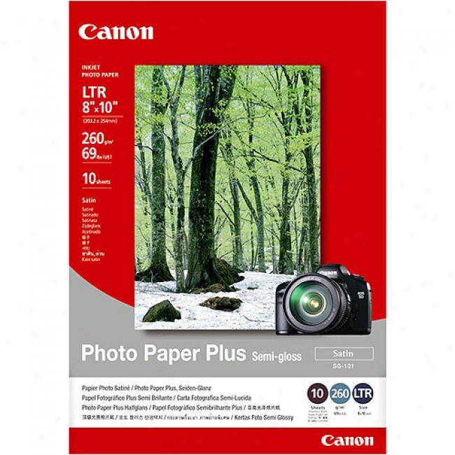 Canon Photo Paper Plus Semi-gloss - 8