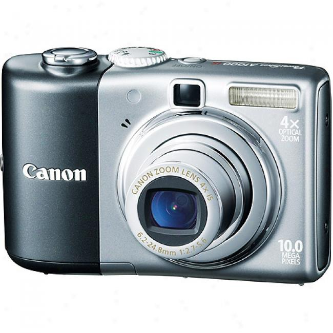 Canon Powershot A1000-is Grzy ~ 10mp Digital Camera With 4x Optical Zoom, 2.5
