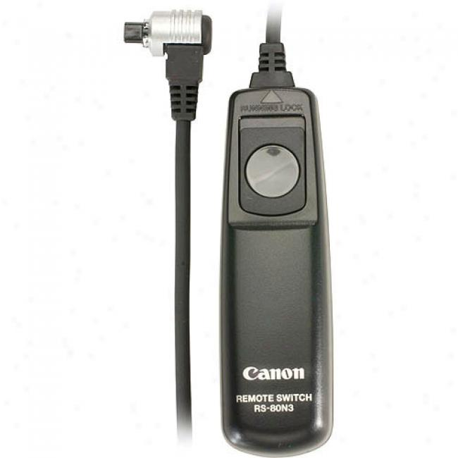 Canon Remote Switch For Eos-1ds Mark Iii And Eos-40d/30d/20d/10d/5d