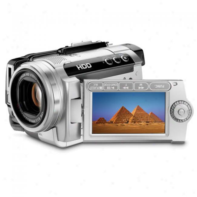 Canon Vixia Hg10 High Definition Hdd Camcorder W/ 10x Optical Zoom, 40 Gb Hard Drive