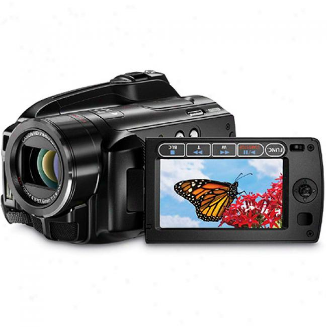 Canon Vixia Hg20 High-definition Hdd Camcorder W/ 60 Gb Hard Drive & 12x Optical Zooom