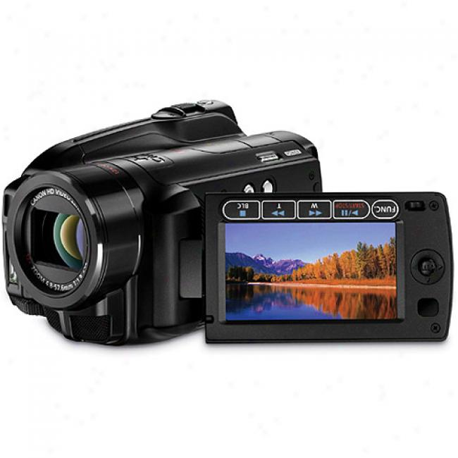 Canon Vixia Hg21 High Definition Hdd Digital Camcorder, 120 Gb Hard Drive, 10x Optical Zoom, 2.7