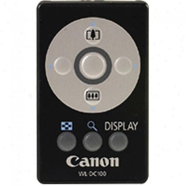 Canon Wireless Remote Control For Powershot Digital Cameras