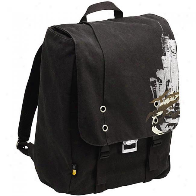 Case Logic Bckpack Laptop Storage Canvas - Dark Gray