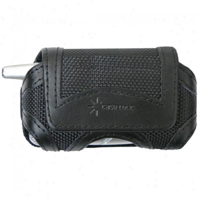 Case Logic Horizontal Nylon Leather Trim Pouch