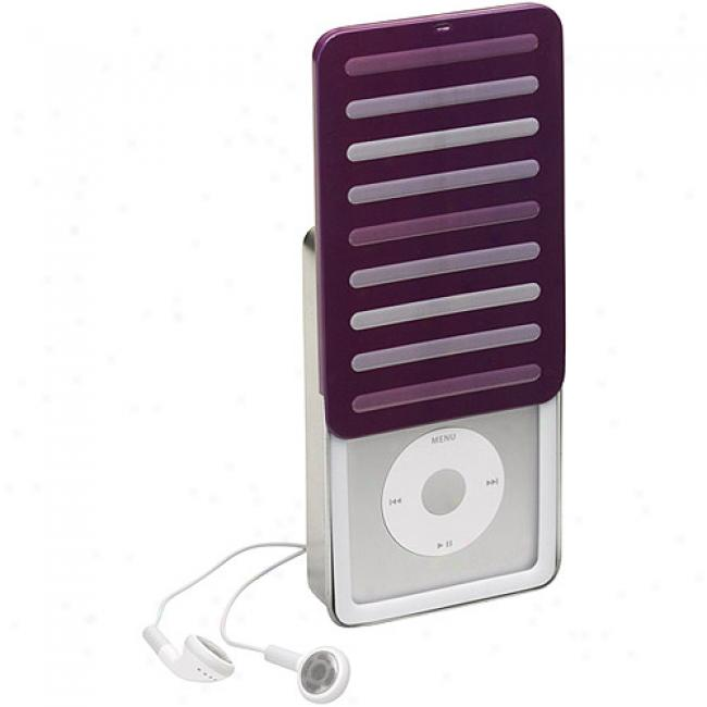 Case Logic Purple Tradtiional Tin Case For Ipod 80gb/160gb Classic, Ictt-1 Purple