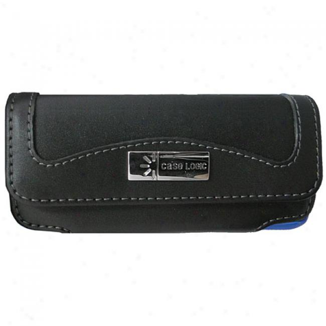 Case Logic Tall Horizontal Leather Pouch