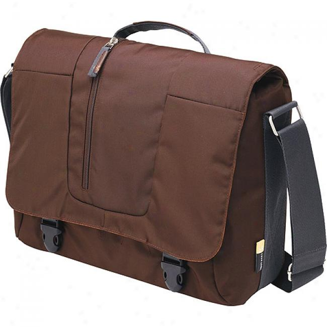 Case Logic Vertical Messenger Bag With Laptop Bay