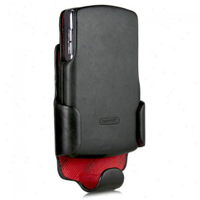 Case-mate - Leather Case And Holster Combo For Blackberry 8800 Series