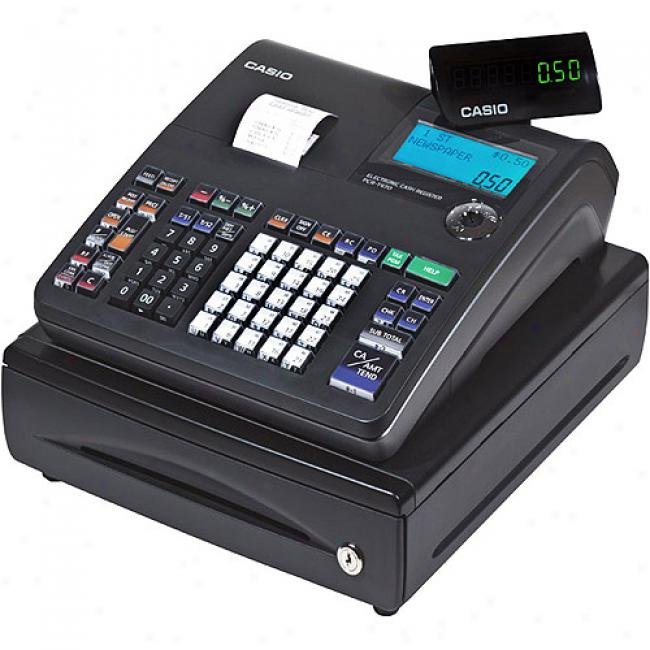 Casio Black 25-department Cash Register With Thermal Printer