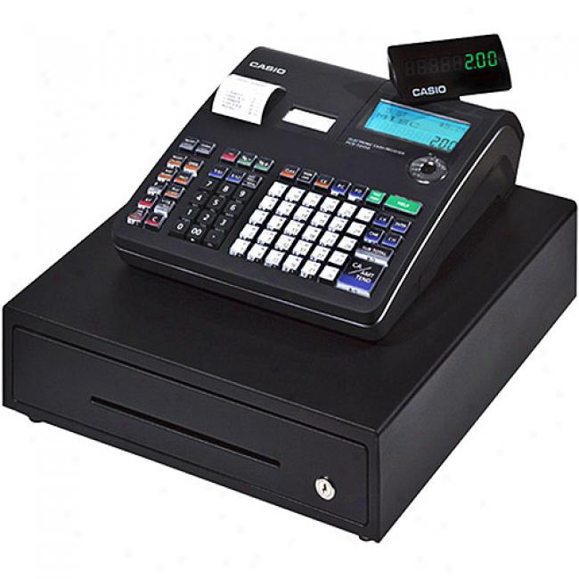 Cassio Black Deluxe 30-department Cash Registrar With Thermal Printer