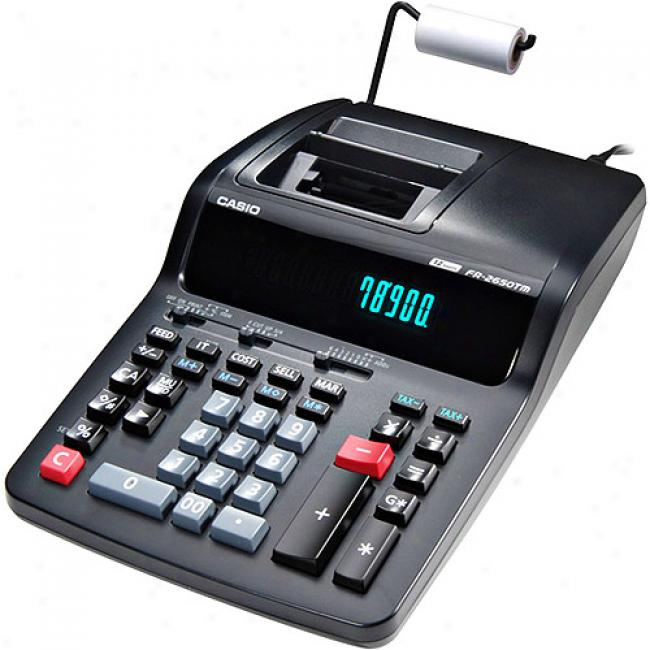 Casio Compact Desktop Printing Calculator