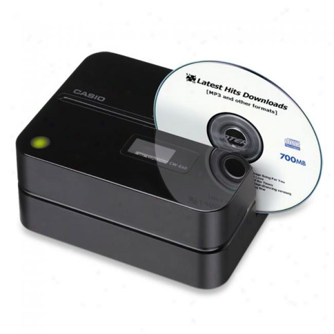 Casio Compact Disk Title Printer, Cw-e60