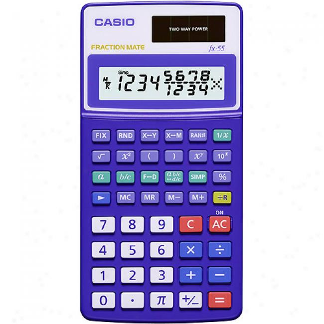 Casio Fx-55 Part Mate Calculator