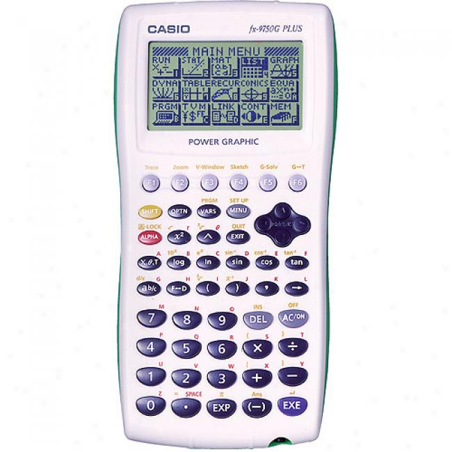 Casio Fx-9750g Plus Graphing Calculator