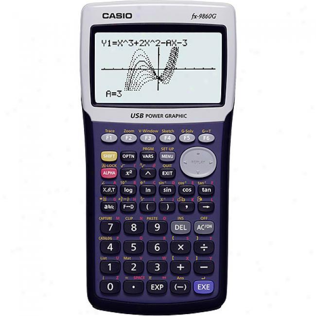 Casio Fx-9860g Graphing Calculator
