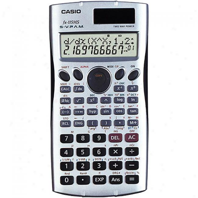 Casio Fx115mspls Scientific Calculator