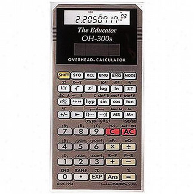 Casio Fx300es Overhead Calculator