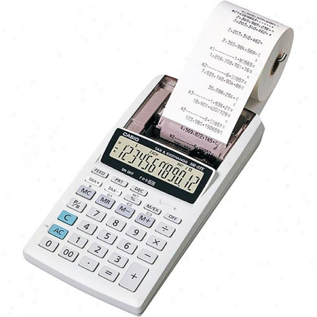 Casio Hand Held Printing Calculator