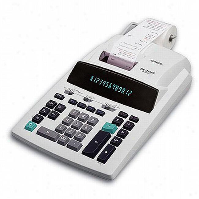 Casio Heavy Duty Printing Calculator