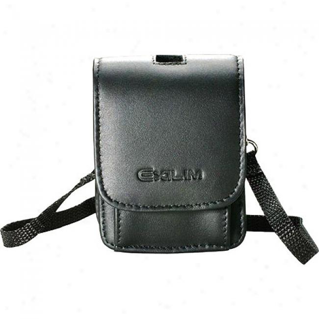 Casio Leather Pouch Style Case For S, V And Z Series Exilim Digital Cameras - 2 9/10