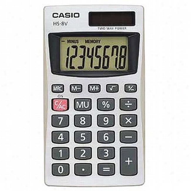 Casio Solar Plus Handheld Calculator