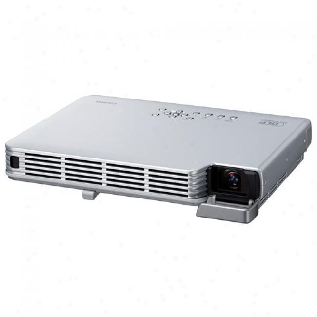 Casio Super Slim Dlp Projector, Xj-s31