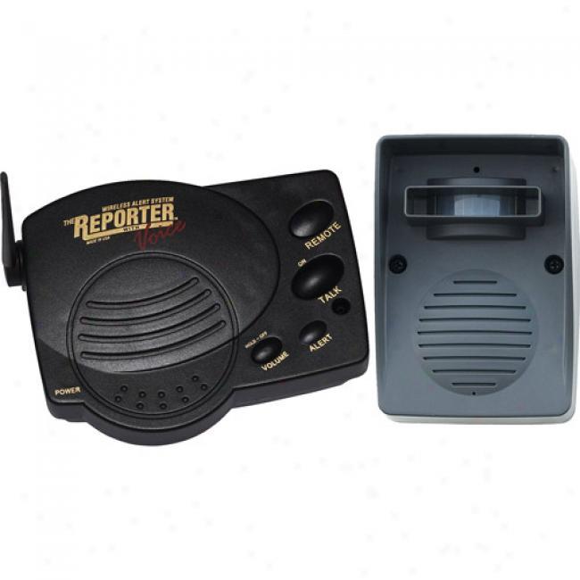 Chamberlain Wireless Alert System Through  2-way Voice Communication