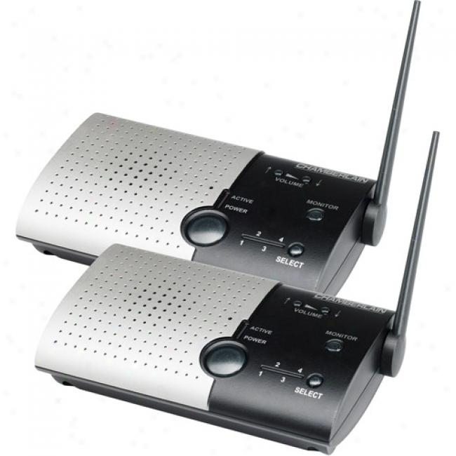 Chamberlain Wireless Portable Inteecom - Extreme Range - 2 Pack