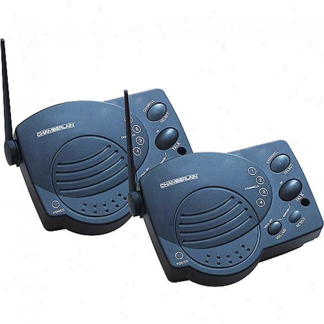 Chamberlain Wureless Portable Intercoms
