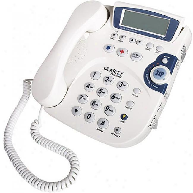 Clarity Amplified Corded Telephone With Caller Id And Call Watiing