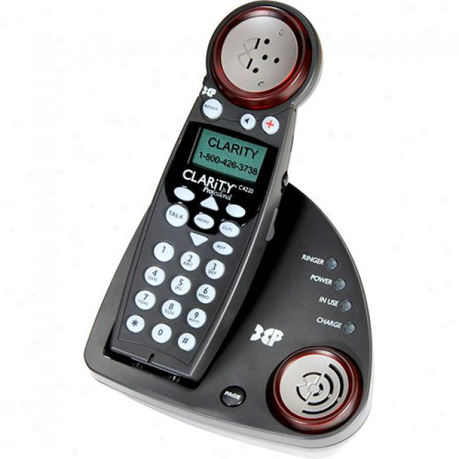 Clarity Amplified Cordless Telephone Upon Caller Id 5.8 Ghz