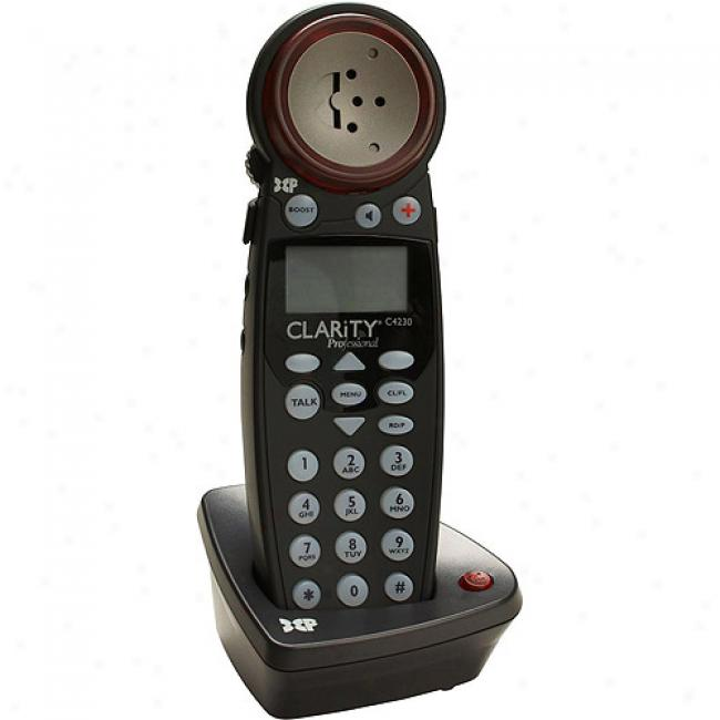 Clarity Extra Handset Because of Amplified Cordless Telephone With Caller Id