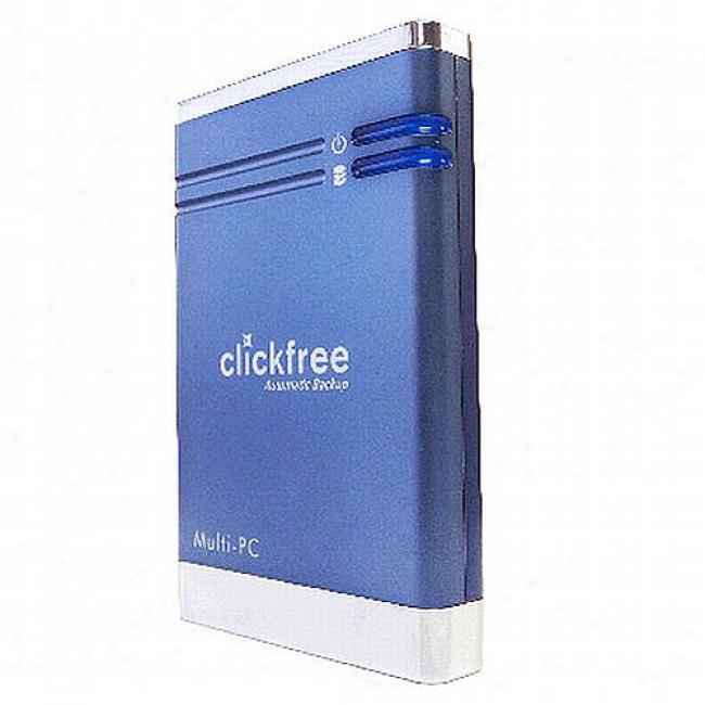 Clickfree Usb Hard Drive, 320gb