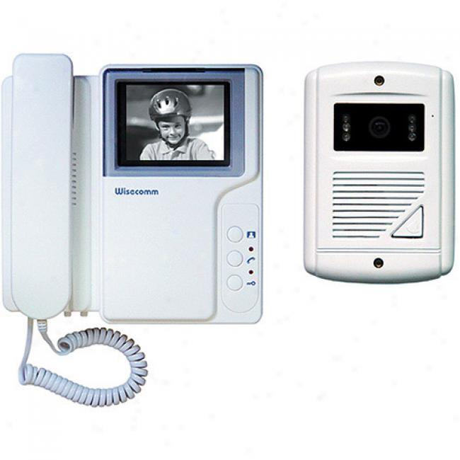 Cover B&w Video Door Phone System