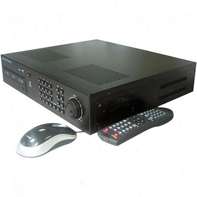 Clover Ip Addressable Stand-alone 8-channel Dvr With 320gb Hdd