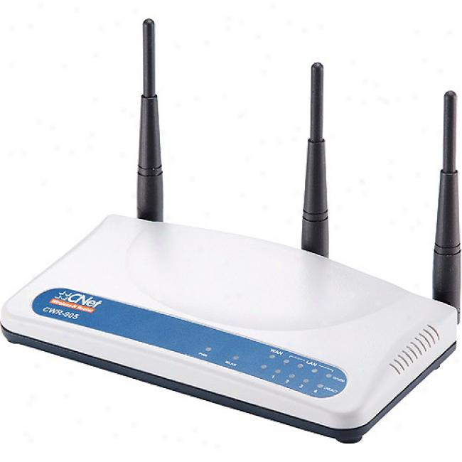 Cnet Cwr-905 Wireless-n Router