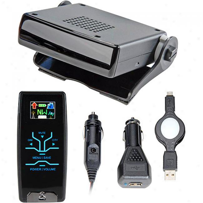 Cobra 12-band Radar/laser Detector In the opinion of Wireless Remote