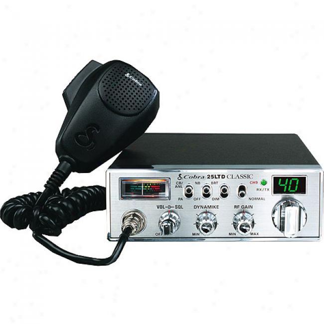 Cobra Cb Radio With Dynamike Gain Control