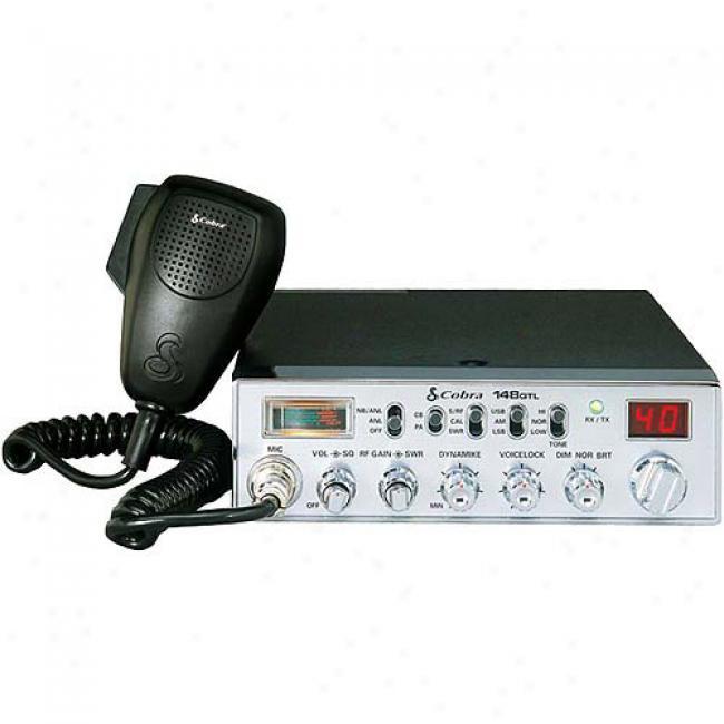 Cobra Claszic Am/ssb Cb Radio With Dynamike Gain Control
