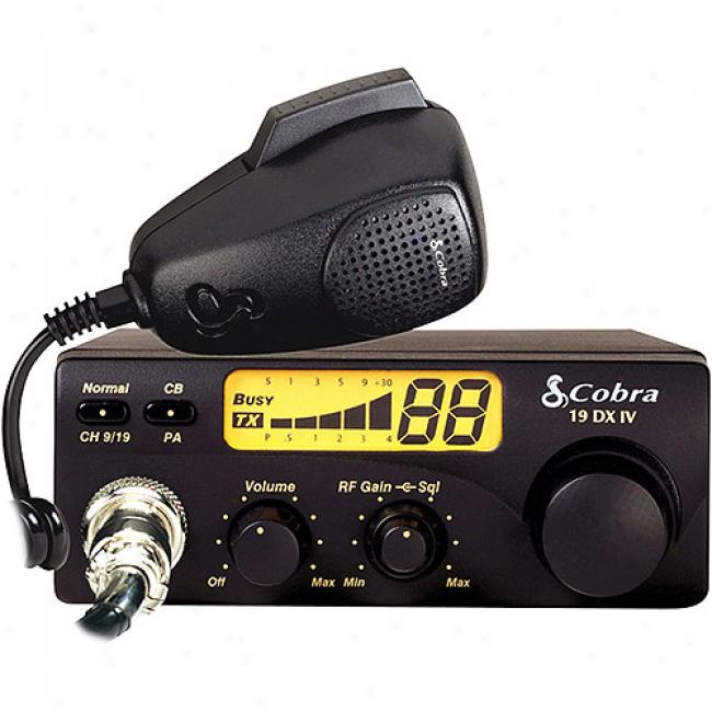 Hooded snake Compact Mobile Cb Radio