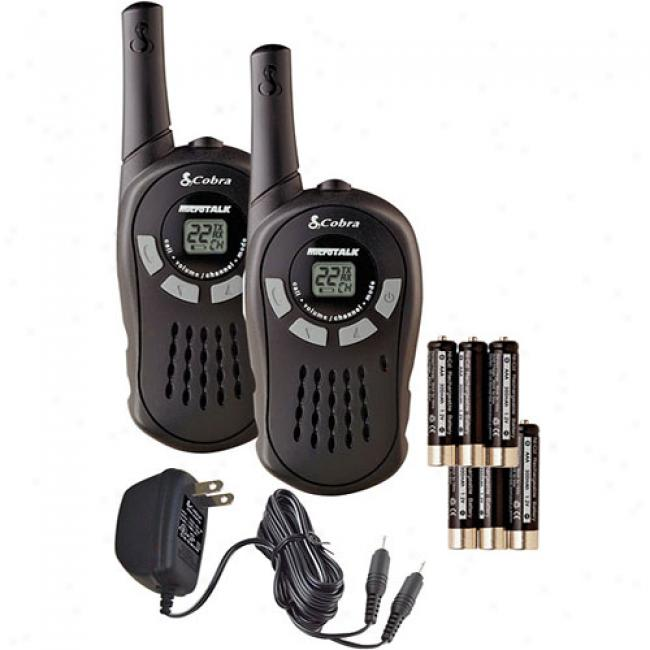 Cobra Gmrs 2-way Radio Value Pack With 10-mile Range