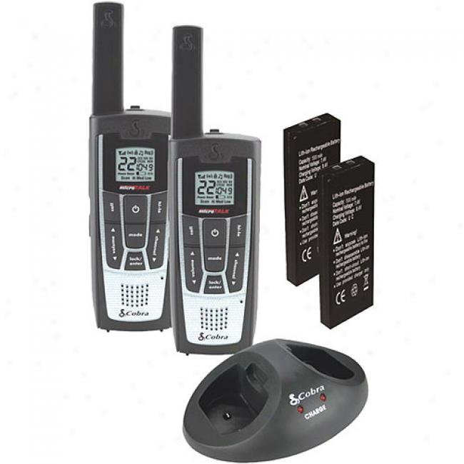 Cobra Gmrs 2-way Radio Value Pack With 27-mile Range