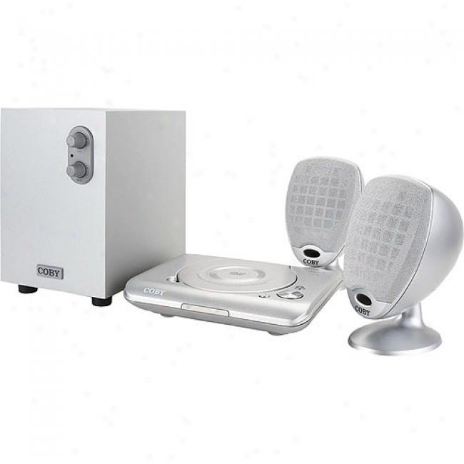 Coby 2.1 Channel Dvd Home Theater System