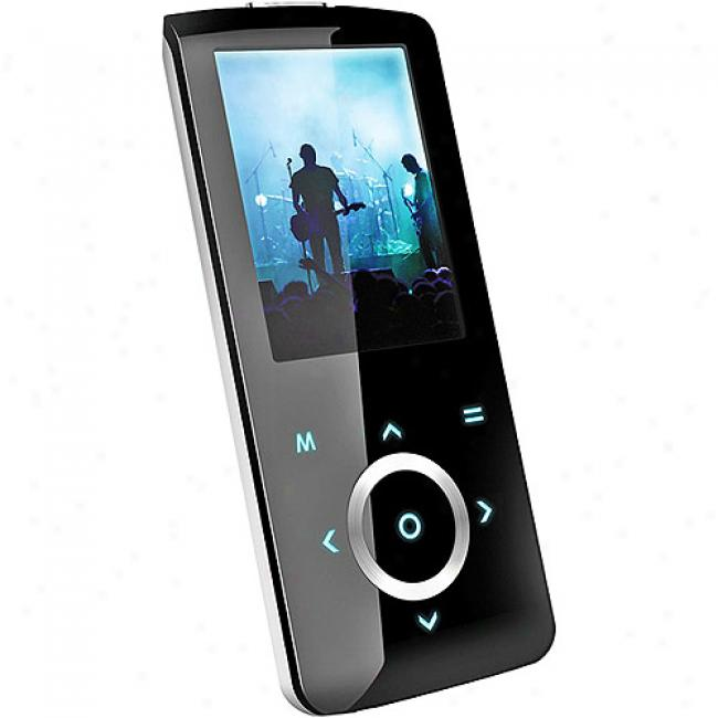 Coby 8gb Mp3 Vide Player, Black